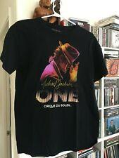 "MICHAEL JACKSON ""One"" Cirque Du Soleil T-Shirt SIZE MENS Medium"