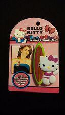 Hello Kitty Sarong and Beach Towel Clip Summertime Fun