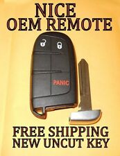 OEM 2011-2018 DODGE JOURNEY DURANGO DART SMART KEY REMOTE PROXIMITY FOB 68066349