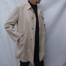 Burberrys BURBERRY beige trench coat NOVA CHECK thigh length size L