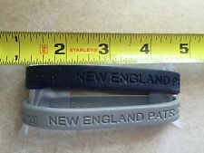 New England Patriots 2 Rubber Wristbands New