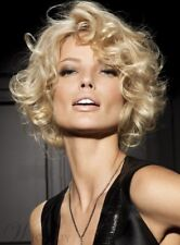Meticulously Designed Blonde Short Curly Wig Hair 10 Inches