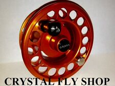 NEW GALVAN R-6 SPARE SPOOL FOR RUSH LT 6 FLY REEL ORANGE FOR 6-7 WT FREE SHIP