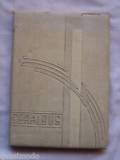 1943 BURBANK HIGH SCHOOL YEARBOOK BURBANK, CALIFORNIA  CERALBUS
