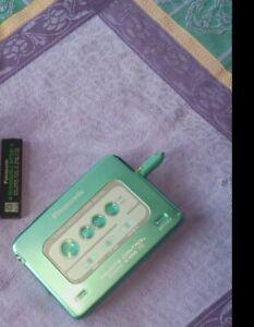 Walkman Panasonic Stereo Cassette Player RQ-SX52 Neuwertiger Zustand