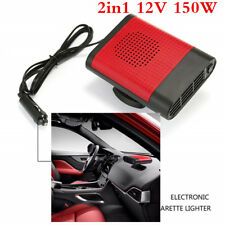 150W 12V Car Truck Auto Heater Hot Cool Fan Windscreen Window Demister Defroster