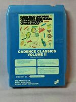 Vintage ~ Cadence Classics Vol. 2 by Various (8-Track, 1975, Barnaby Records)