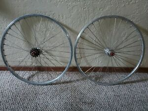 Old school Bmx Race Wheelset TNT Derringer Hub ? sun rims ? Suntour freewheel