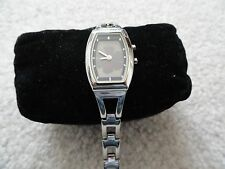 Fossil Quartz Ladies Water Resistant Watch with a Flower on the Dial