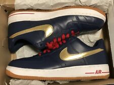 Nike Mens Air Force 1 Low Size 11.5 USA 2012 Olympic Dream Team Shoes