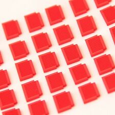 Small Window Shutters Genuine Lego Part 3582 Brand New RED 30 PIECES