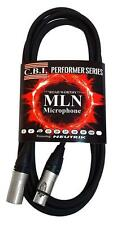 (12) Pack CBI MLN Performer 5-10ft, 5-25ft, 2-50ft Microphone Cable XLR - XLR