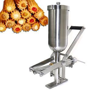 Manual Churro Filler 5L Spanish Churro Maker Machine Fill Machine Commercial