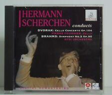 CD Hermann Scherchen conducts Dvorak Brahms Pierre Fournier Ermitage 1996