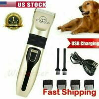 Pet Dog Cat Grooming Clippers Electric Hair Trimmer Groomer Shaver Razor Clipper