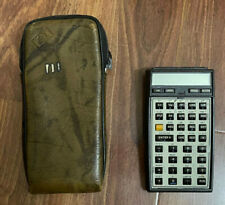HP 41CV Scientific Calculator with Case UNTESTED