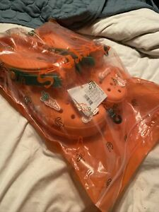 Crocs x Anwar Carrots All Terrain Clog Orange SIZE 11 MENS rare bad not bunny