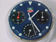 Tag Heuer Chronograph Movement Quartz Complete Blue Dial With Hands