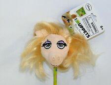 "Muppets Miss Piggy Plush 2"" Pencil Topper NWT Disney Plushy Pencil Pals"