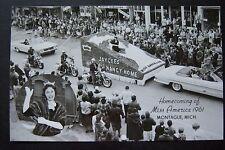 Homecoming of Miss America 1961 NANCY FLEMING Montague, Michigan RPPC postcard