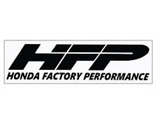 "Honda Factory Performance (HFP) Performance Car Tuner Decal Sticker  (5""X1.5"")"
