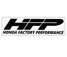 Honda Factory Performance (HFP) Performance Car Tuner Decal Sticker