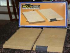 POLA LGB 904 Station Base Plate Set with Box G Scale