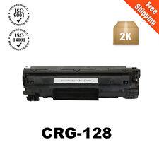 2PK Black Toner Cartridge for Canon 128 3500B001AA ImageClass D530 D550 MF4770n
