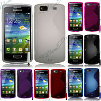 Housse Coque TPU Silicone GEL Soupe S Vague Samsung Wave 3 S8600