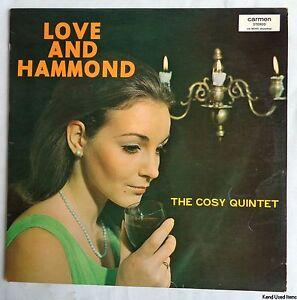 "THE COSY QUINTET love and hammond 12"" LP VINYL Carmen 2001 Netherlands record"