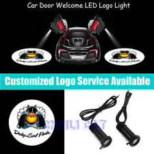 Dodge Scat Pack Logo Car Door Welcome Projector LED Light for Challenger Charger