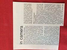 m6-9c ephemera 1970s film article stanley kubrick clockwork orange furore