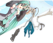 New Anime Hatsune Miku Cosplay Keychain Pandent for Anime Fans