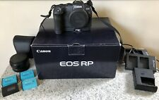 Canon EOS RP Mirrorless Digital Camera with Mount Adapter EF-EOS R & EG-E1 Ext