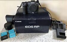 Canon EOS RP Mirrorless Digital Camera, Mount Adapter EF-EOS R & EG-E1 Extension