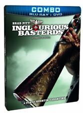 Inglourious Basterds (SteelBook Edition Blu-ray + DVD Combo) [Blu-ray] NEW!
