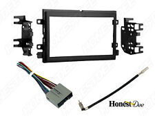 95-5812 Double-Din Car Stereo Installation Dash Kit & Wires for Ford Radio Mount