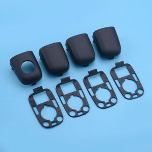 8X Door Handle End Cap Cover w/ Seal fit for Citroen C2 C3