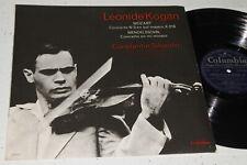 Columbia FCX 843 Leonid Kogan Mozart Mendelssohn Concertos Silvestri ED1 NM