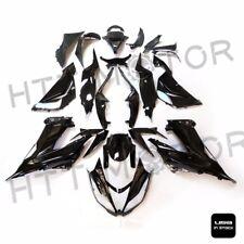 Glossy Black ABS Plastic Fairings Bodywork for 2013-2016 Kawasaki Ninja ZX6R