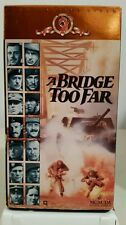 A Bridge Too Far VHS 1977 Color WWII Sean Connery Gene Hackman