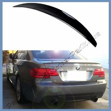 PAINTED 07-13 BMW E92 Coupe Performance Lip Rear Spoiler Wing 328i 330d 335i M3