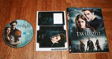 Twilight DVD with Slip cover and bonus ipod sticker