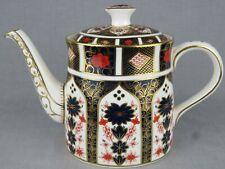 ROYAL CROWN DERBY TEA POT - OLD IMARI PATTERN 1128 - DATE 2004