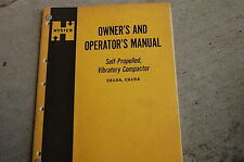 HYSTER C610A C615A Roller Compactor Owner Operator Operation Maintenance Manual