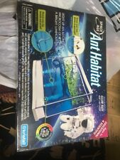 New Space Age Ant Habitat Farm Gel LED Light Club Size Kristal Science Education