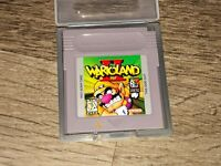 Wario Land II 2 w/Case Nintendo Game Boy Cleaned & Tested Authentic