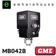 GME BLACK UNIVERSAL FOLD DOWN ANTENNA MOUNTING BRACKET UHF CB AERIAL - MB042B