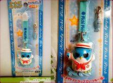 PICHI PICHI PITCH Mermaid Melody HIPPO FIGURE key chain TAKARA with URANAI CARD