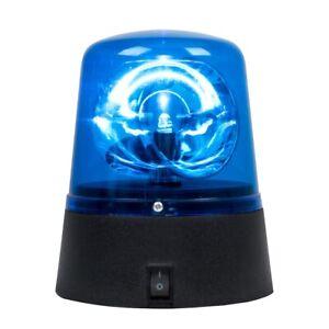 Blue LED Novelty Light Rotating Battery Operated Party Light Flashing Design